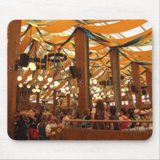 Mousepad: Tienda Oktoberfest Munich de Paulaner Tapetes De Ratón