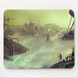 mousepad tóxico de la ciudad tapetes de ratón