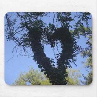 Mousepad tree heart