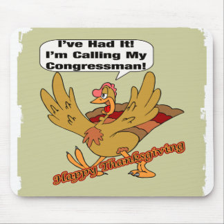 Mousepad - Turkey Calling Congressman
