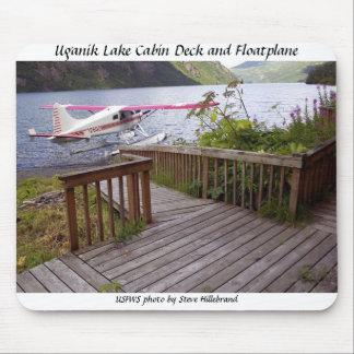 Mousepad / Uganik Lake Cabin Deck and Floatplane
