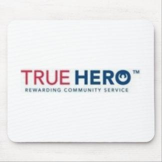 Mousepad verdadero del logotipo del héroe tapete de ratones
