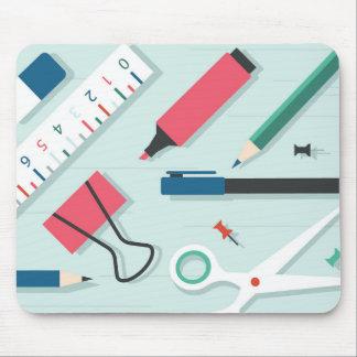 Mousepad verde mínimo de los efectos de escritorio