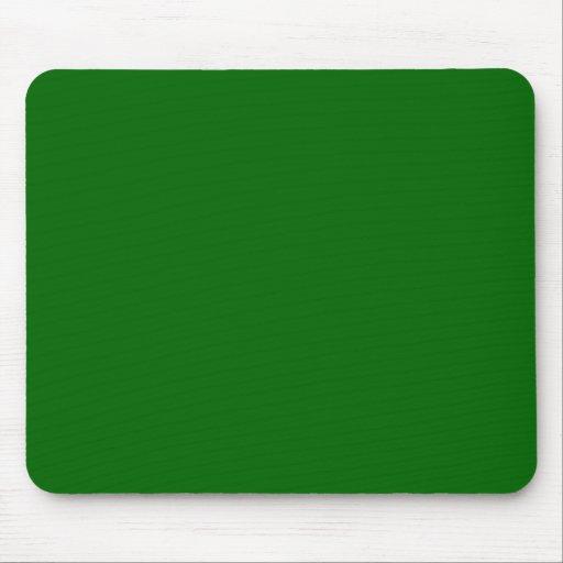 Mousepad - verde oscuro tapete de ratones