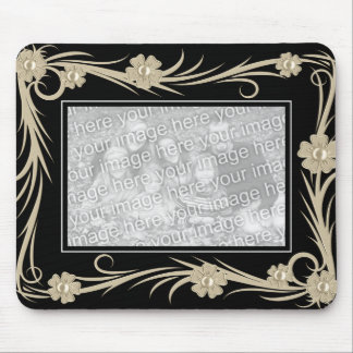 """Mousepad Vintage """"ADD Your Photo"""" Frame"""