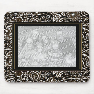 """Mousepad Vintage """"ADD Your Photo"""" Ornate Frame"""
