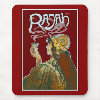 Mousepad Vintage Advertisements Rajah Coffee Mouse Pad