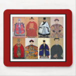 Mousepad Vintage Art Chinese Nobility Collage Mousepads