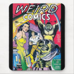 Mousepad Vintage Comic Book Covers Weird Mouse Pad