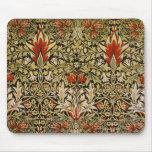 Mousepad Vintage Snakeshead Printed Textile Mousepad