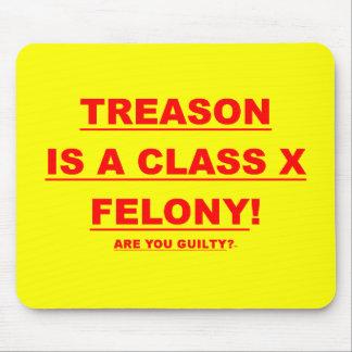 Mousepad w/ Treason is a class x