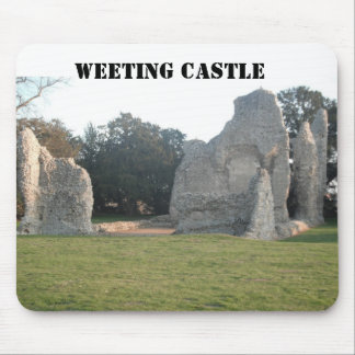 Mousepad Weeting Castle Weeting Norfolk England