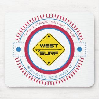 Mousepad West Surf XII