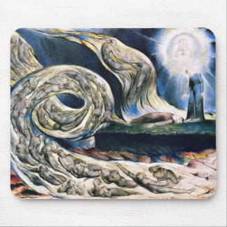 """Mousepad: """"Whirlwind of Lovers"""" by William Blake Mouse Pad"""