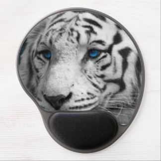 Mousepad/White Tiger Gel Mouse Pad
