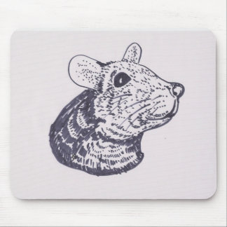 Mousepad, with, a mouse.