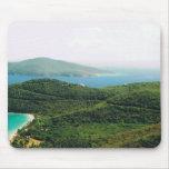 Mousepad with a Saint Thomas Island Scene