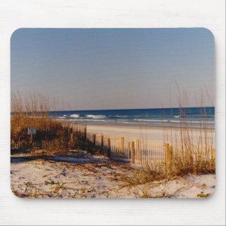 Mousepad with Beach Scene