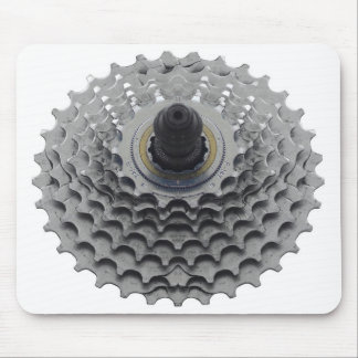 Mousepad with Bike Sprocket