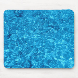 Mousepad with Blue Waters Design