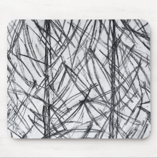 Mousepad with Charcoal Lines