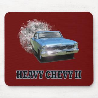 Mousepad With Chevy II Drag Racing Design
