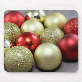 Mousepad with Christmas Balls