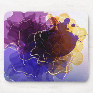 Mousepad  with colorful abstract picture