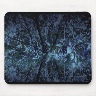 Mousepad with Digital Art Image - Rain Forest