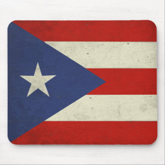 Mousepad with Dirty Flag from Puerto Rico