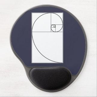 Mousepad with Fibonacci Spiral