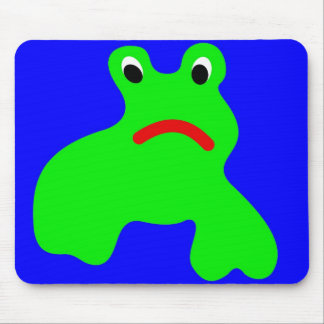 Mousepad with frog