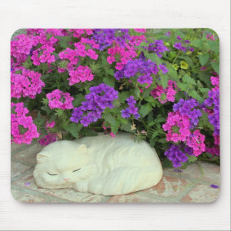Mousepad with Garden Decoration