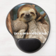Mousepad With Happy Sloth at Zazzle