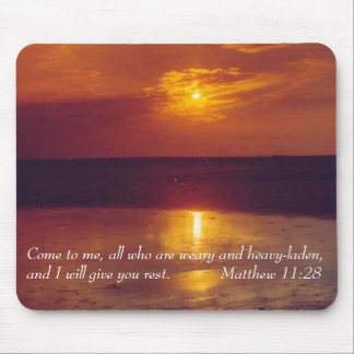 Mousepad with Inspirational verse