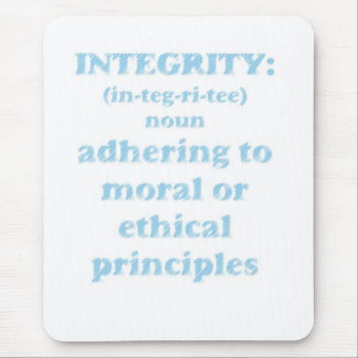 Mousepad with Integrity Design