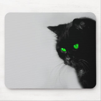 Mousepad with motive for cat