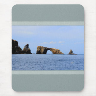 Mousepad with Ocean Scenery and Arch