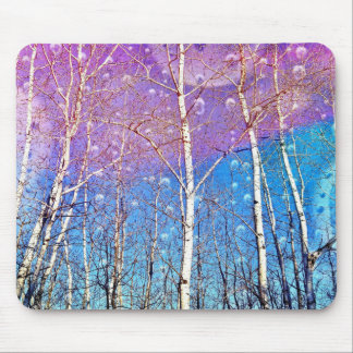 "Mousepad with print ""Promise Me Spring""."