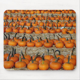 Mousepad with pumpkins