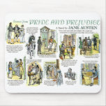 Mousepad with Scenes from Pride and Prejudice