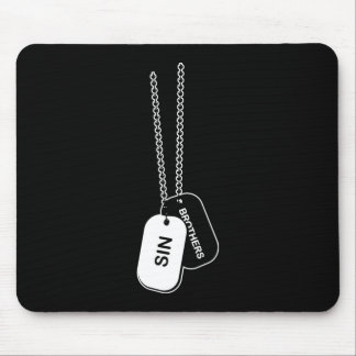 Mousepad with Sin Brothers Logo