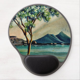 Mousepad With The Bay Of Naples Gel Mouse Pad