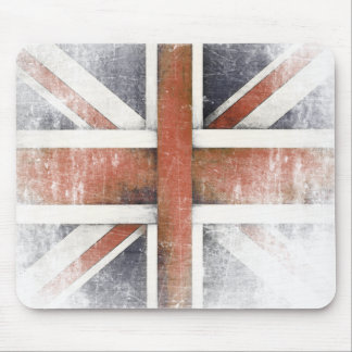 Mousepad with Vintage Great Britain Flag