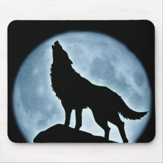 """Mousepad """"Wolf to moonlight """""""