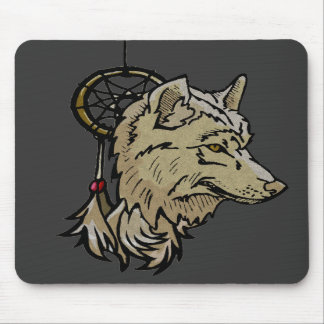 Mousepad - Wolf Totem Dream Catcher