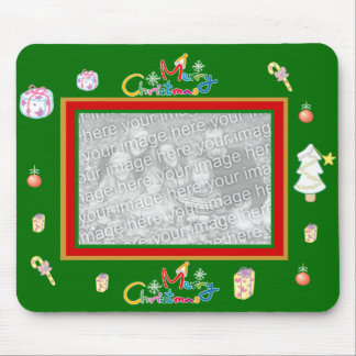 Mousepad Xmas Add Your Image Photo Template
