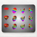 mousepad, Zernike table 3 x 4