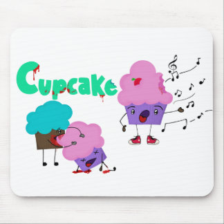 Mousepad Zombie Cupcakes