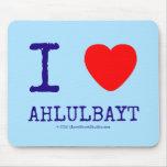 i [Love heart]  ahlulbayt i [Love heart]  ahlulbayt Mousepads